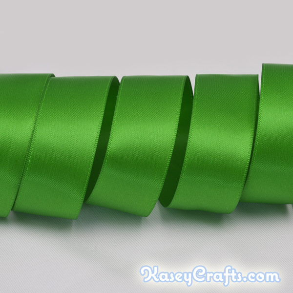 P579_classical_green_ribbon_satin_double_faced
